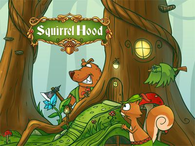 Squirrel hood game screen squirrel hood game screen decean nelutu photoshop