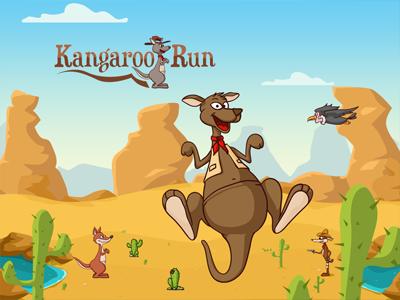 Kangaroo run game kangaroo run game design nelutu decean desert