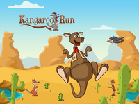 Kangaroo run game