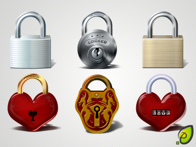 Lock icons - free psd png lock locked icon icons free psd png heart love old rectangular round transparent shadow illustration decean nelutu pixtea