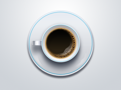 Coffee cup icon vector | free image by | Coffee