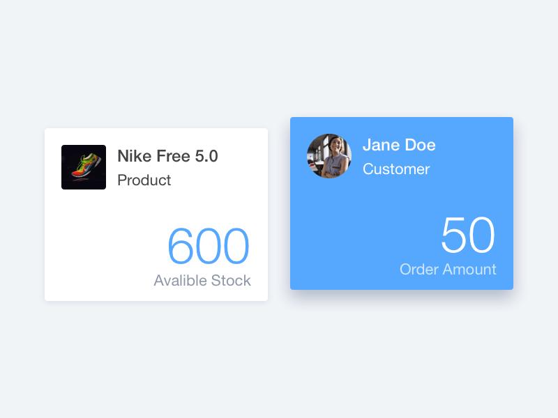 Widgets for SaaS by FanSuen on Dribbble