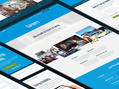 COzero responsive website