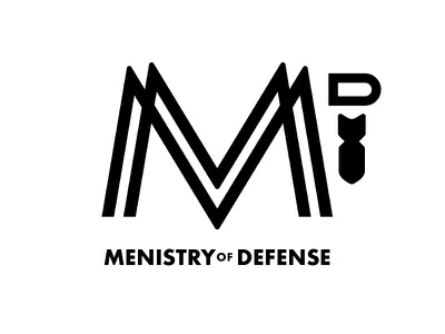 Menistry of Defense warfare spiritual bomb manly bold men church monogram m defense ministry menistry