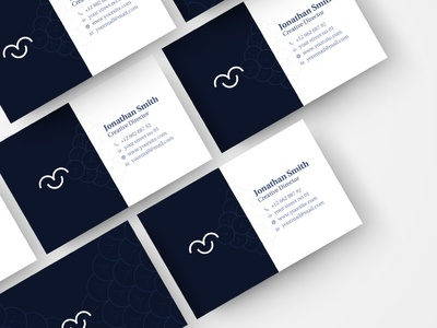Clean Business Card luoffa clean business card white space minimalist business card card template modern minimalist business card
