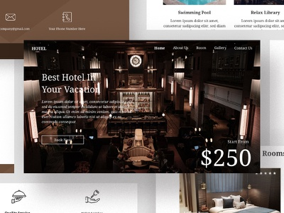 Hotel Email Newsletters Hotel Email Newsletters by luoffa.co  i email marketing marketing luoffa clean email white space minimalist email email template template modern minimalist email