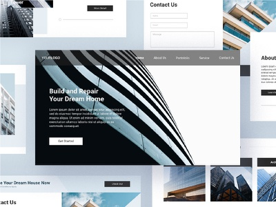 Construction Email Newsletter email marketing marketing luoffa clean email white space minimalist email email template template modern minimalist email