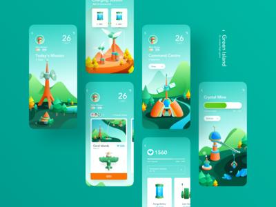 Green Island Game App