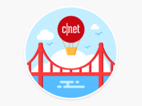 CNET Sticker
