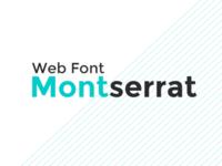 Font Study: Montserrat
