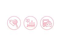 Car Dealership Icons