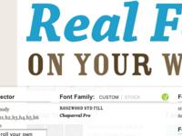 Font Friend, Meet Typekit