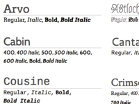 Better Google Web Fonts