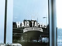 Hair Tapers Window Mockup