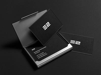 E2MELENG logo business card personal branding itumeleng masinamela e2meleng