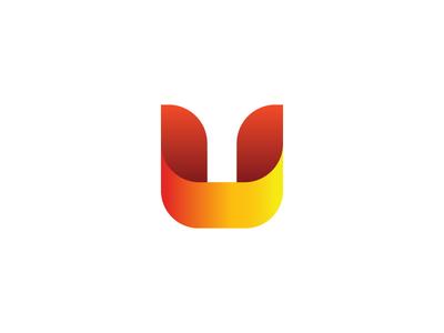 U Monogram monogram u logo petrol oil energy uae