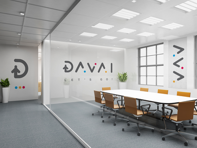 Davai Travel Agency travel agency take off south africa sign logo identity icon flight corporate branding brand airplane