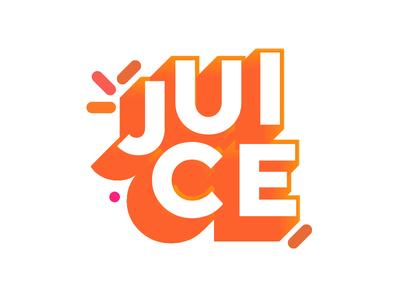 Juice south africa design identity logo orange juice