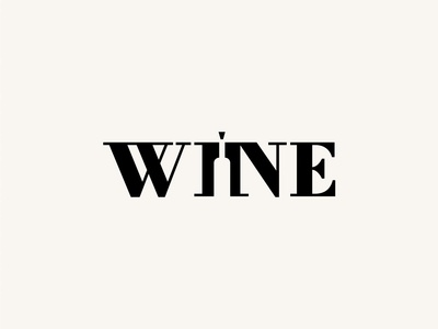 WINE WORDMARK LOGO