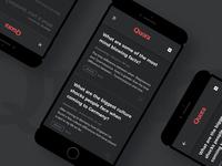 Quora App Dark Ui - Answers Feed