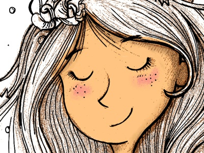 Listen To Your Heart  greeting card kyletwebster drawn handdrawn wacom art digital illustration