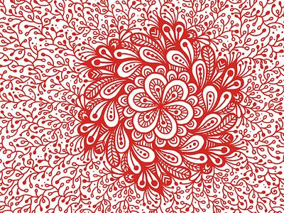 Mandala #1 leaves leaf flower amaziograph apple pencil ipadpro mandala drawing digital