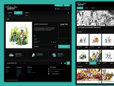 Galerie Dédicaces - Web