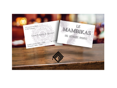 "Visit Card for ""Le Mambikas"""