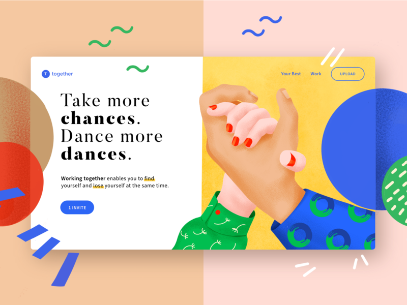 + 1 Dribbble invite giveaway
