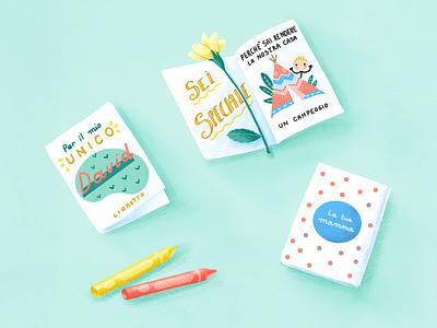 .-°*. ZINE .*°-. for your child fresh colors fresh flower procreate paper zine crayons illustration kid child