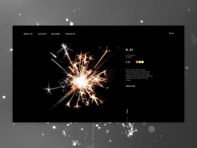 Shop page e-commerce