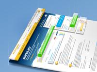 Fastweb \\ 2014 Services website