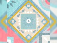 Mosaic Tiles Illustration 5/9