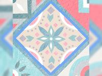 Mosaic Tiles Illustration | Grid Challenge 8/9