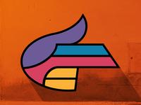 Superhero Finger Gun Logo