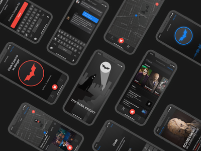 "Extra Button ""BATMAN"" mokup photoshop dribbble application catwoman figma design apple artist adobe illustrator ux uiux ui bat help app joker the dark knight batman"