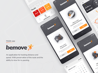 "App for tracking move ""BeMove"""