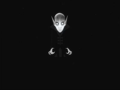 Nosferatu – Horror Walk Cycle