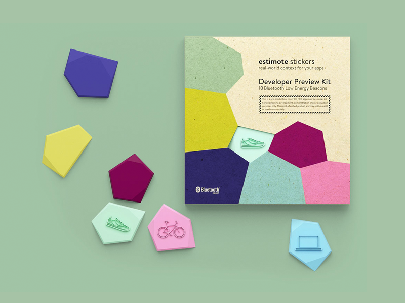 Estimote Stickers Packaging by Estimote on Dribbble