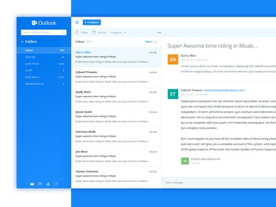 Outlook - Redesign