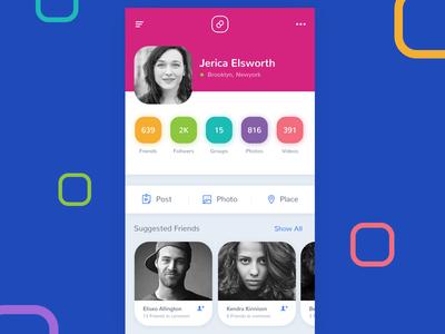 Social Network App - Concept