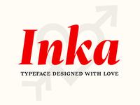Inka typeface