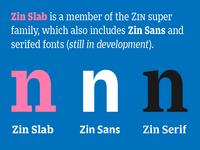 Zin type family