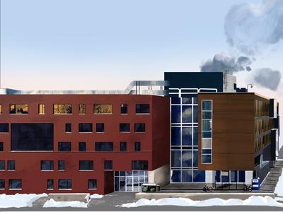 building series building procreate illustration