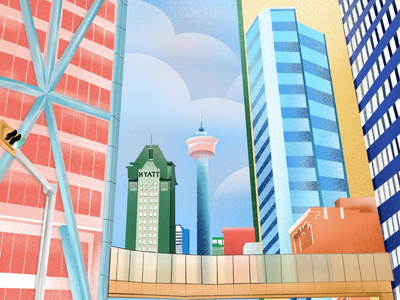 building series buildings illustration