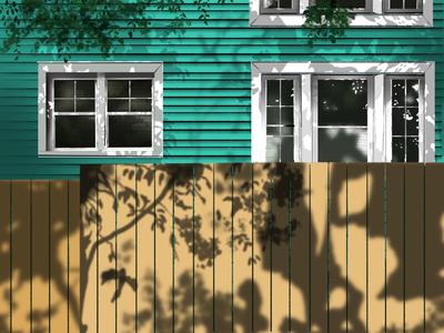 summer procreate illustration