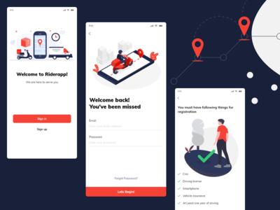 Mobile Application - Rider App