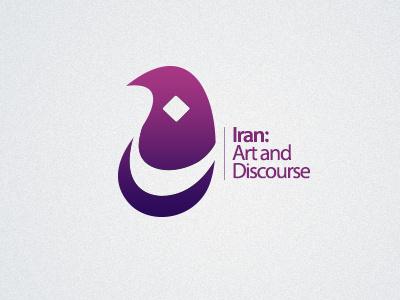 Iran: Art and Discourse  logo iran art discourse eastern