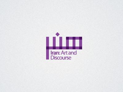 Iran: Art and Discourse 02 logo
