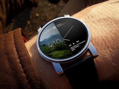 Smart watch concept  smart watch concept mockup smartwatch motorolla